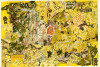 American History Series # 7: Nuking the Japs, 2004 mixed media/paper, 33 x 47.75""
